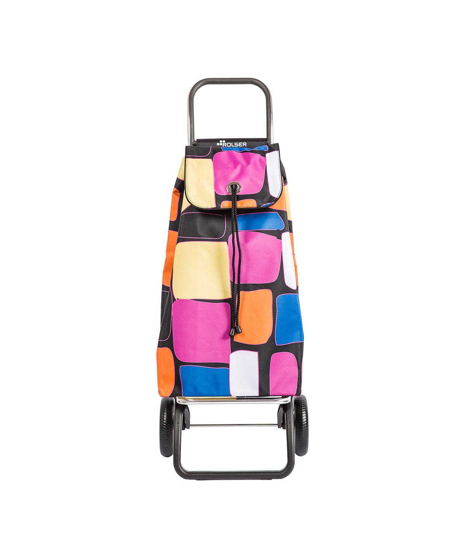 Rolser kicsi bevásárlókocsi, banyatank, húzós kocsi, gurulós táska, gurulós kocsi, összehúzós bevásárlókocsi, összecsukható